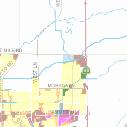 Interactive Zoning Map City of Stockton CA