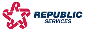Photo of Republic Services logo