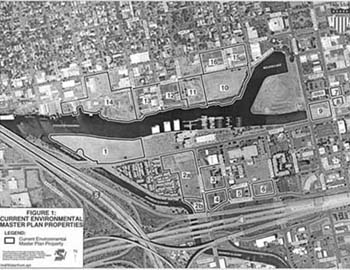 Brownfields Aerial Photo