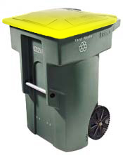 Photo of a Recycling Cart
