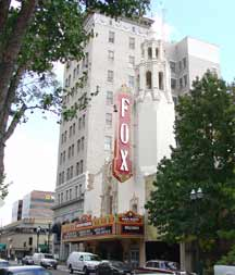 Front of Bob Hope Theater building